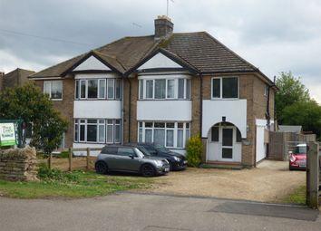 Thumbnail 4 bed semi-detached house for sale in Oundle Road, Orton Longueville, Peterborough, Cambridgeshire