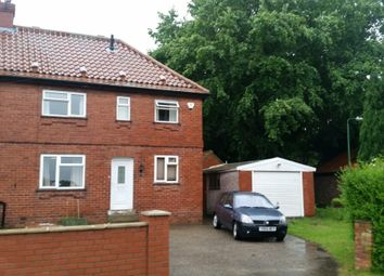 Thumbnail 3 bed semi-detached house to rent in Kirk Hammerton Lane, Green Hammerton