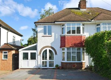 Thumbnail 3 bed semi-detached house for sale in Elm Grove, Maidstone, Kent