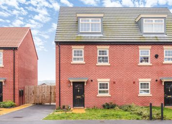 Thumbnail 4 bed semi-detached house for sale in Stoborough Crescent, Featherstone, Pontefract