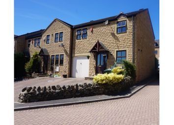Thumbnail 3 bed town house for sale in Burnsall Mews, Silsden