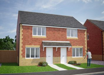 Thumbnail 2 bed semi-detached house for sale in The Cork, Blythe Street, Wombwell, Barnsley, South Yorkshire