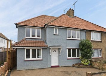 Thumbnail 5 bed semi-detached house to rent in Northfield Road, Cobham