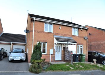 Thumbnail 2 bed semi-detached house for sale in Pinewood Close, Alfreton