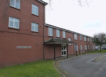 Thumbnail 1 bed flat to rent in Central Court, Avenue Road, Coalville
