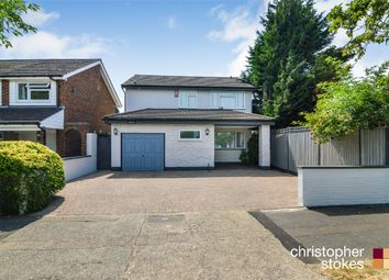 Thumbnail 4 bedroom detached house for sale in Stafford Close, Cheshunt, Hertfordshire