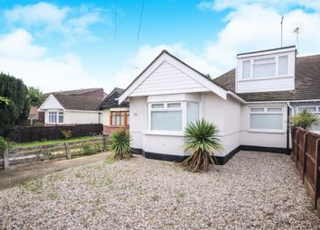 Thumbnail 3 bed semi-detached bungalow for sale in Rayleigh Road, Eastwood, Leigh-On-Sea