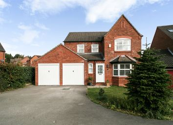 Thumbnail 4 bed detached house for sale in Oak View Rise, Harlow Wood, Mansfield, Nottinghamshire