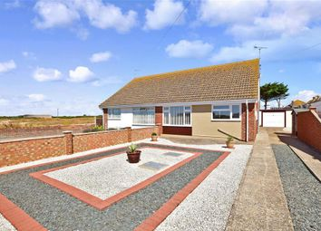 Thumbnail 2 bed semi-detached bungalow for sale in Channon Road, Greatstone, New Romney, Kent