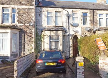 Thumbnail 5 bed terraced house for sale in Stacey Road, Roath, Cardiff