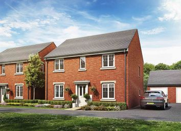 "Thumbnail 4 bed detached house for sale in ""The Chedworth"" at Haverhill Road, Little Wratting, Haverhill"