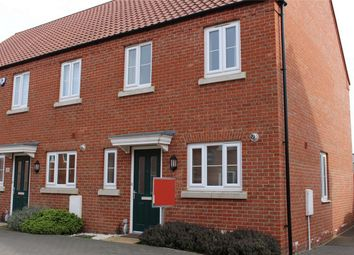 Thumbnail 3 bed end terrace house for sale in Humber Drive, Spalding, Lincolnshire