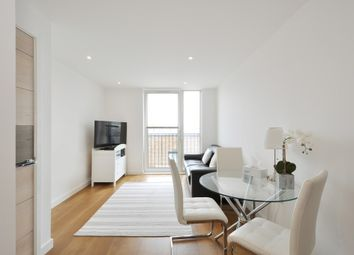 Thumbnail 1 bed flat for sale in Marine Wharf, London