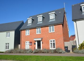 Thumbnail 4 bedroom detached house for sale in Burgattes Road, Little Canfield, Dunmow