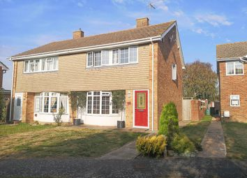 Thumbnail 3 bed semi-detached house for sale in The Green Walk, Willingdon, Eastbourne
