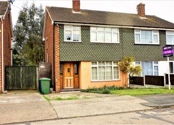 Thumbnail 3 bed semi-detached house for sale in Silverdale, Stanford-Le-Hope