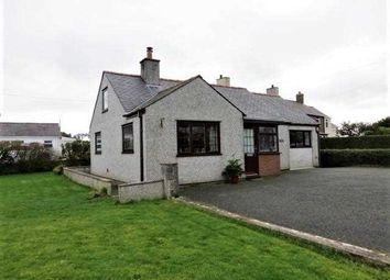 Thumbnail 3 bed detached bungalow for sale in Penllwyn, Llanddona, Llanddona