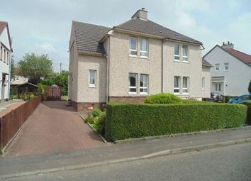 Thumbnail 3 bed semi-detached house for sale in Faskine Crecent, Airdrie