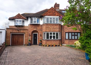 Thumbnail 5 bedroom semi-detached house for sale in Gladeside, Croydon