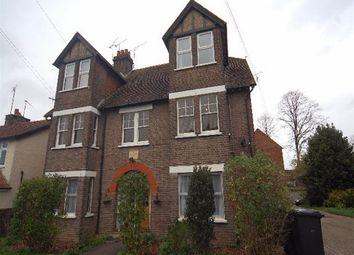 Thumbnail 4 bedroom flat to rent in Cross Way, Harpenden