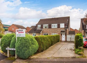 Thumbnail 3 bed semi-detached house for sale in Boleyn Walk, Leatherhead