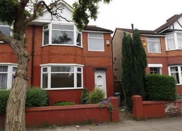 Thumbnail 3 bed property for sale in Grange Avenue, Stretford, Manchester