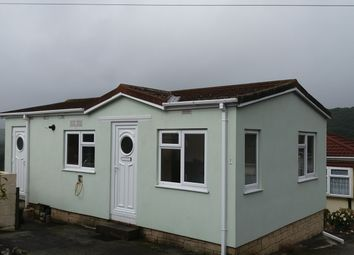 Thumbnail 2 bed mobile/park home for sale in Dunmere, Cornwall