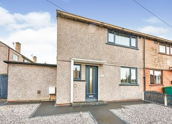 Thumbnail 2 bed end terrace house for sale in Cresswell Avenue, Carlisle, Cumbria