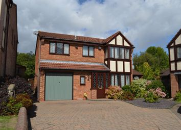 Thumbnail 4 bed detached house for sale in The Hay, The Rock, Telford, Shropshire.