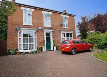 Thumbnail 4 bed detached house for sale in Branston Road, Burton-On-Trent