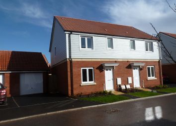 Thumbnail 3 bed semi-detached house to rent in Trafalgar Road, Exeter
