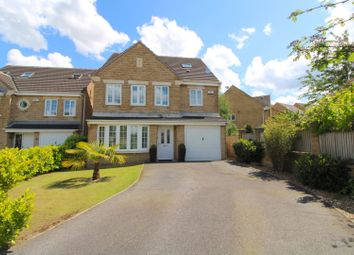 Thumbnail 4 bed detached house for sale in Tithefields, Fenay Bridge, Huddersfield