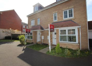 Thumbnail 4 bed semi-detached house for sale in Tindall Close, Chilwell