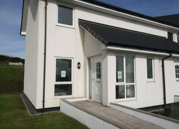 Thumbnail 2 bed end terrace house for sale in The Fairways, Chalet Road, Portpatrick, Stranraer