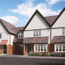 Thumbnail 3 bedroom semi-detached house for sale in Middy Close, Mendlesham