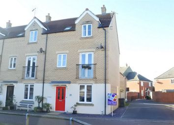 Thumbnail 4 bed end terrace house for sale in Whitby Avenue, Eye, Peterborough, Cambridgeshire