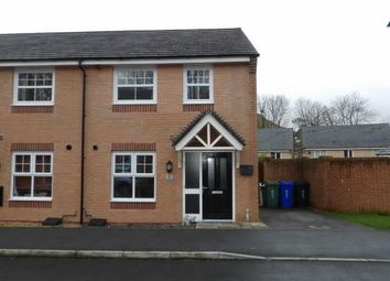 Thumbnail 3 bed end terrace house for sale in Cotton Way, Helmshore, Rossendale, Lancashire