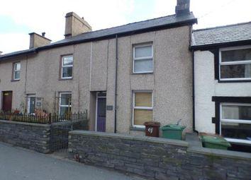 Thumbnail 1 bed terraced house for sale in Glandwr Terrace, Glanypwll, Blaenau Ffestiniog, Gwynedd