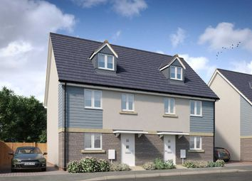 "Thumbnail 4 bed town house for sale in ""The Banwell"" at Locking Moor Road, Weston-Super-Mare"