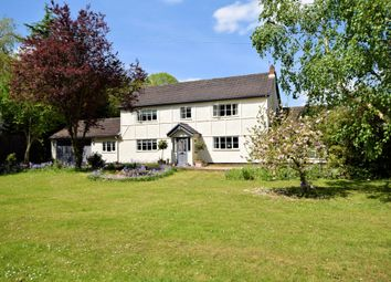 Thumbnail 4 bed detached house for sale in Church Hill, Beighton, Norwich