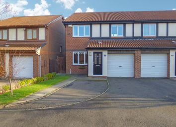 Thumbnail 3 bed semi-detached house for sale in Dearham Grove, Cramlington