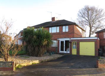 Thumbnail 3 bed semi-detached house for sale in Church Avenue, Amblecote, Stourbridge