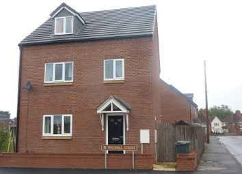 Thumbnail 4 bedroom detached house for sale in Woodall Street, Bloxwich, Walsall