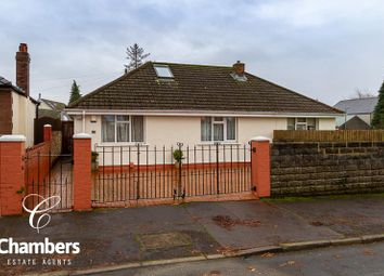 Thumbnail 3 bed detached bungalow for sale in Manor Rise, Whitchurch, Cardiff