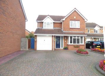 Thumbnail 4 bed detached house for sale in Stewart Close, Branston, Burton-Upon-Trent, Staffordshire