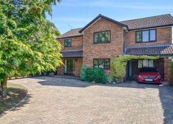 4 bed detached house for sale in Church Road, Three Legged Cross, Wimborne, Dorset BH21