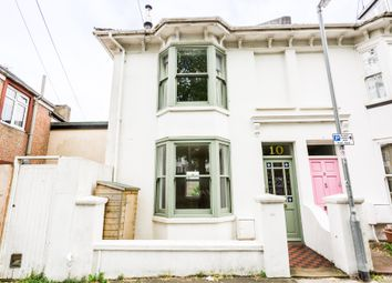 Thumbnail 4 bed end terrace house to rent in Finsbury Road, Brighton