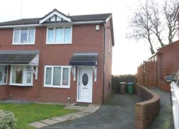 Thumbnail 2 bed semi-detached house for sale in Ribblesdale Close, Hopwood, Heywood