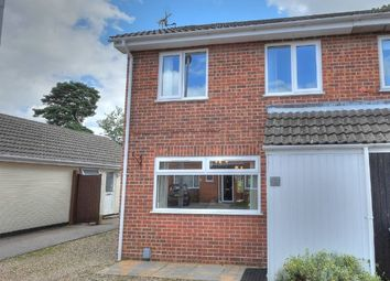 Thumbnail 4 bedroom semi-detached house for sale in Harrisons Drive, Norwich