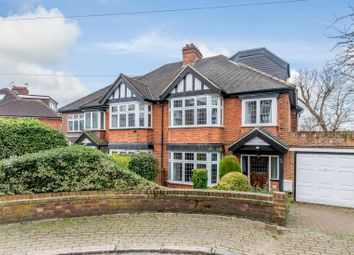 Thumbnail 4 bed semi-detached house for sale in Priory Crescent, Wembley, Middlesex